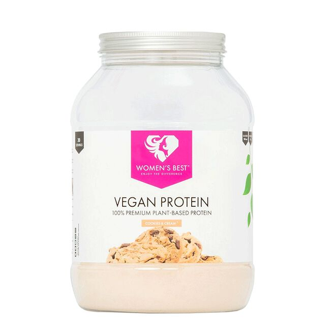 Vegan Protein, 900 g, Cookies & Cream