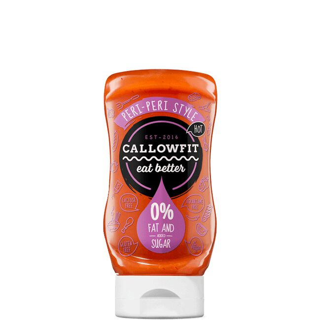 Callowfit, Hot Peri Peri, 300ml