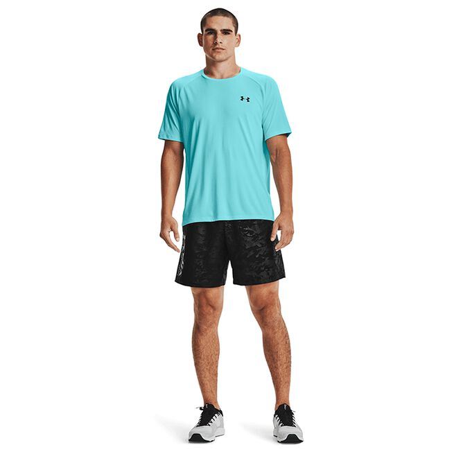 Under Armour Woven Emboss Shorts Black