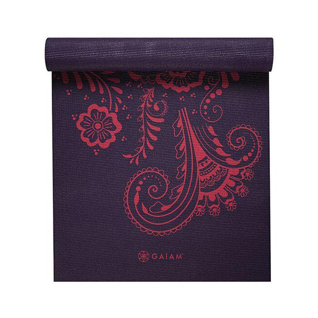 Aubergine Swirl Yoga Mat, 6mm