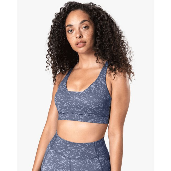 Let Go Sports Bra, Light Grey, XS