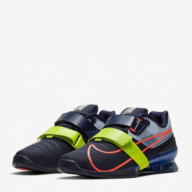 Nike Romaleo 4 Black Red Blue