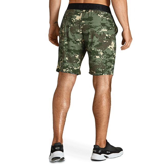 Borg Shorts, Digital Woodland XL Duck Green, S