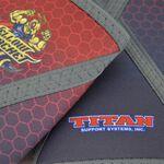 Titan Yellow Jacket Knee Sleeves IPF, XS