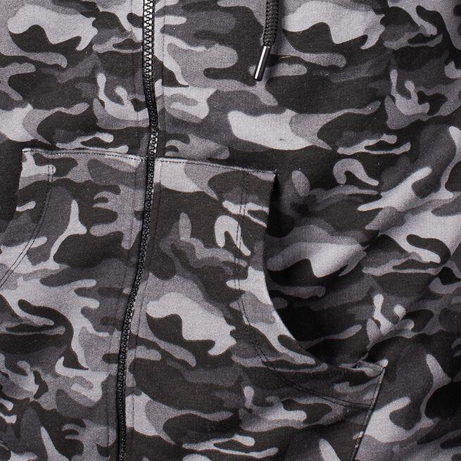 Star Mens  Zip Hood, Black Camo, L
