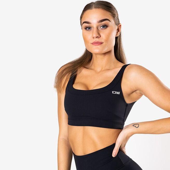 Nimble Sports Bra, Black, XS