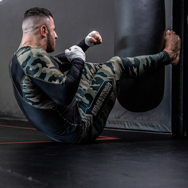 Franklin Men's Tights, Army Green Camo, S