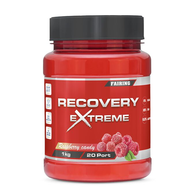 Recovery Xtreme, 1000 g, Raspberry Candy