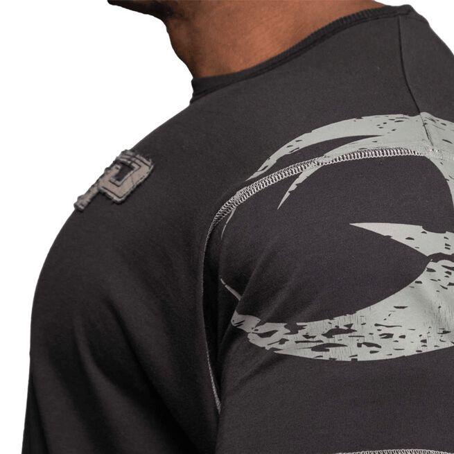 Gasp Pro Logo Tee, Washed Black