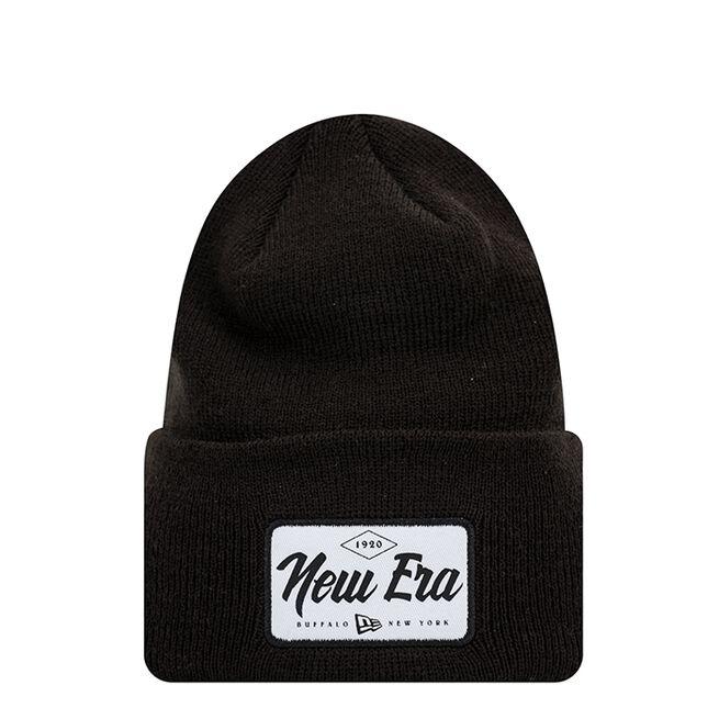 New Era Wide Cuff Patch, Black