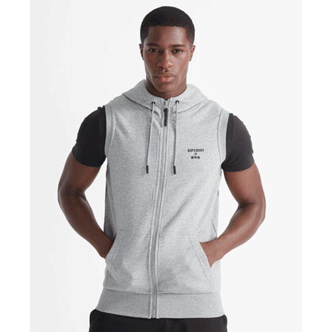 Training Core Sport SL Hood, Grey Marl, L