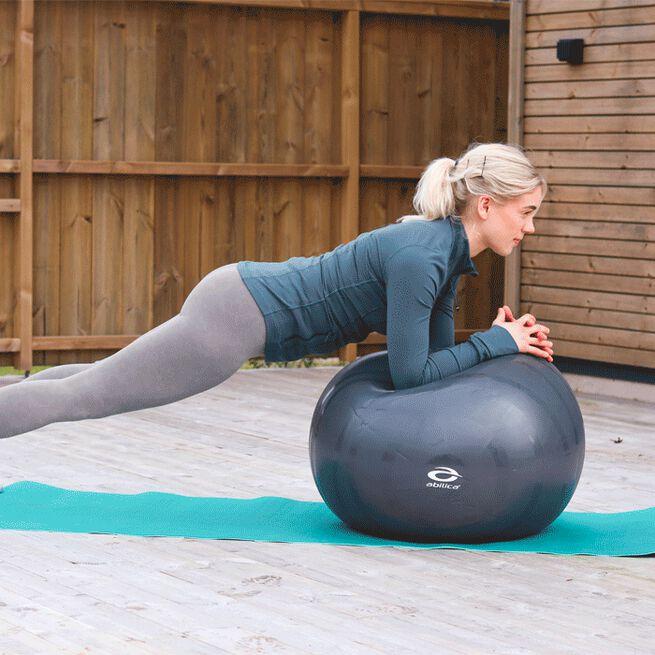 Abilica fitnessboll dark grey