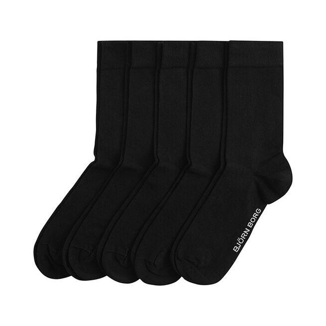 5-Pack Sock Noos Essential, Black, 41-45