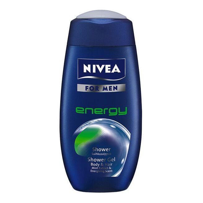 Nivea Shower Energy For Men, 250ml
