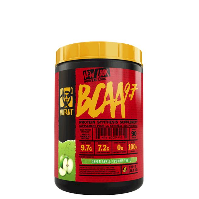 Mutant BCAA 9.7, 90 servings, Green Apple