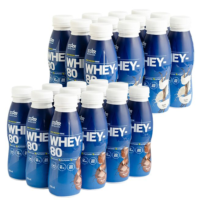 Star Nutrition whey-80 dryck
