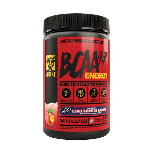 Mutant BCAA 9.7 Energy, 30 servings, Georgia Peach