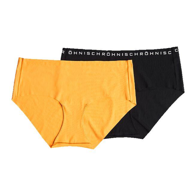 Siena 2-Pack Hipster, Neon Orange, S