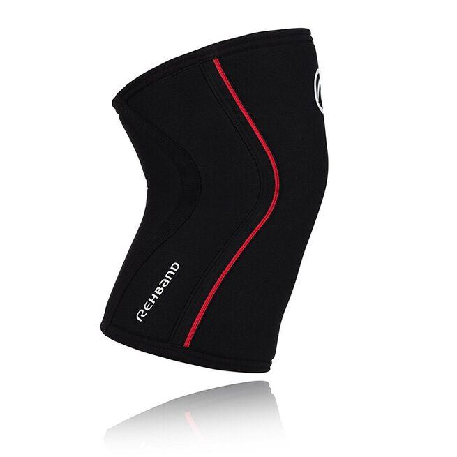 RX Knee Sleeve, 7mm, Black/Red, XS