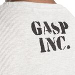 Gasp Thermal Gym Sweater, Grey Melange