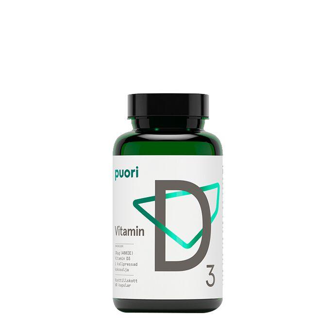 D3 D-Vitamin 60 kapslar Puori