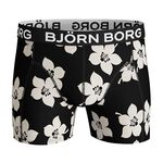 2-Pack Sammy Shorts BB Graphic Floral, Black Beauty, L