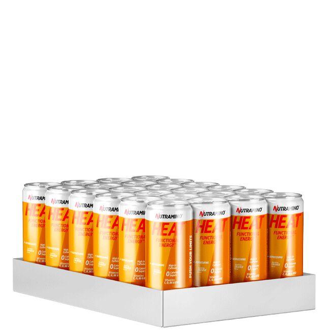 24 x Nutramino HEAT, 330 ml, Orange