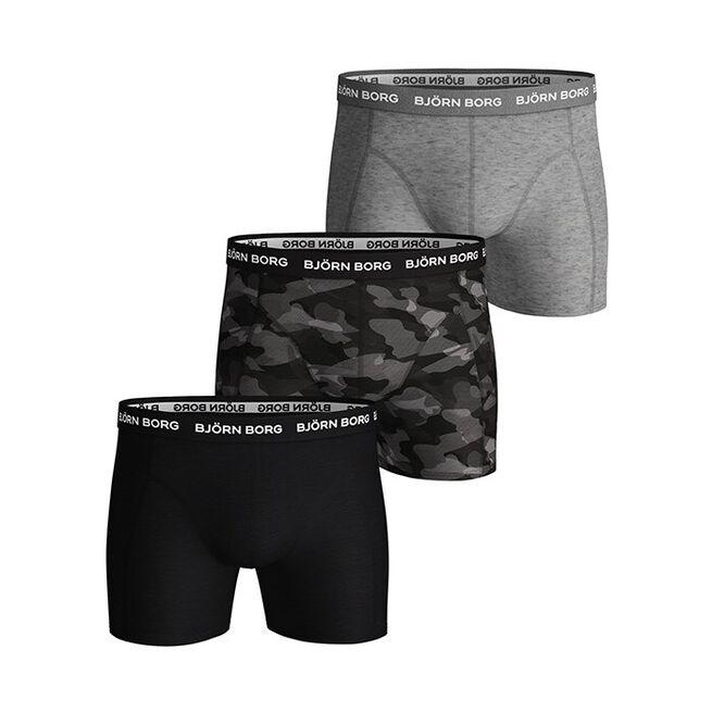 3-Pack BB Shadeline Sammy Shorts, Black Beauty, S