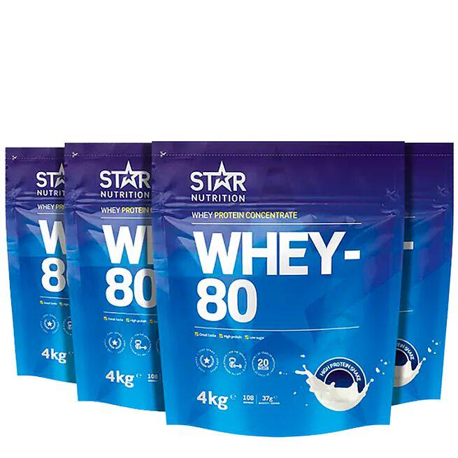 star nutrition whey-80