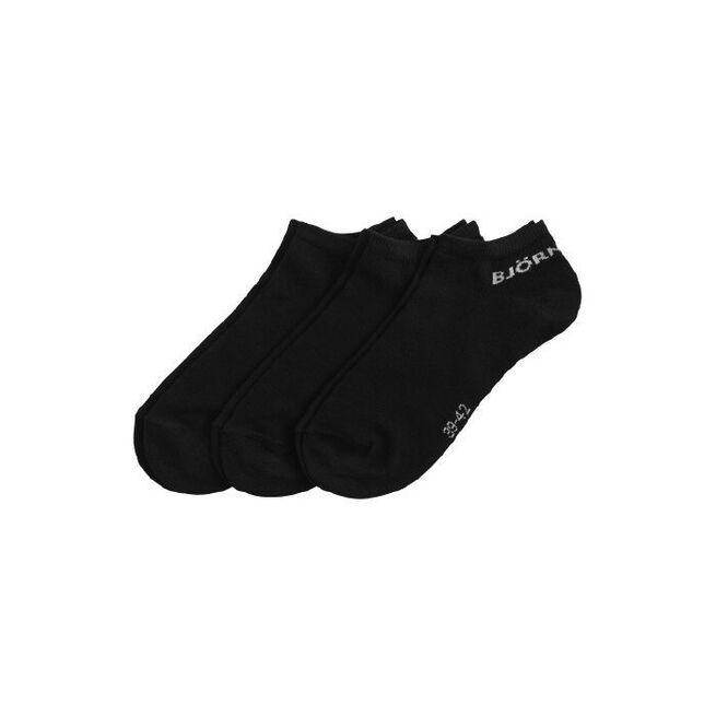 3-pack Sock Noos Essential, Black, 39-42