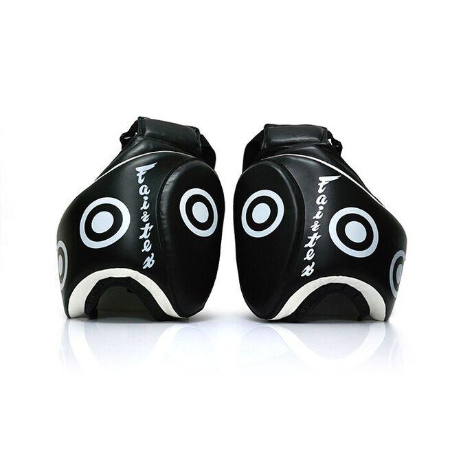 "Fairtex TP3, Low Kick Pads, ""Thigh Pads"", Black, Pair"