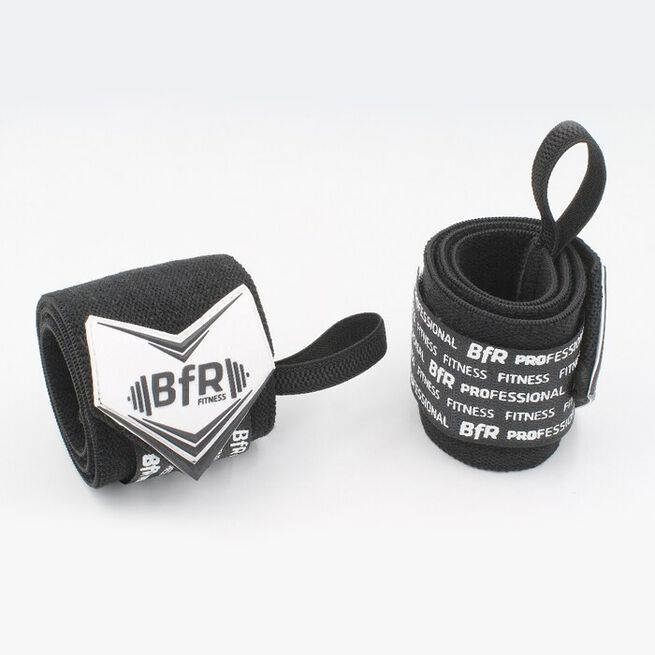 """BfR Pro Wrist Wrap, Black, 12"""""""