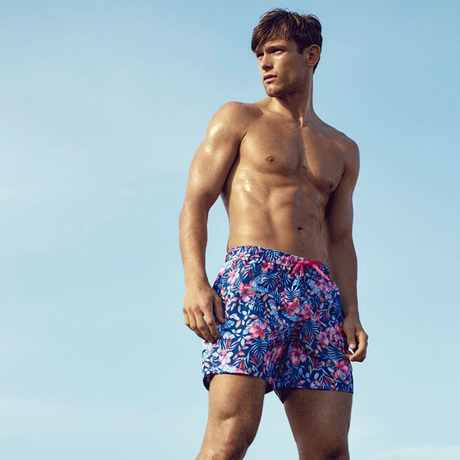 Björn Borg sylvester loose shorts bb okinowa blue