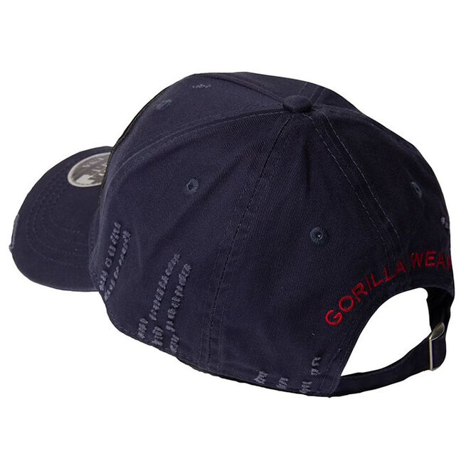 Harrison Cap, navy Blue/Red, OS