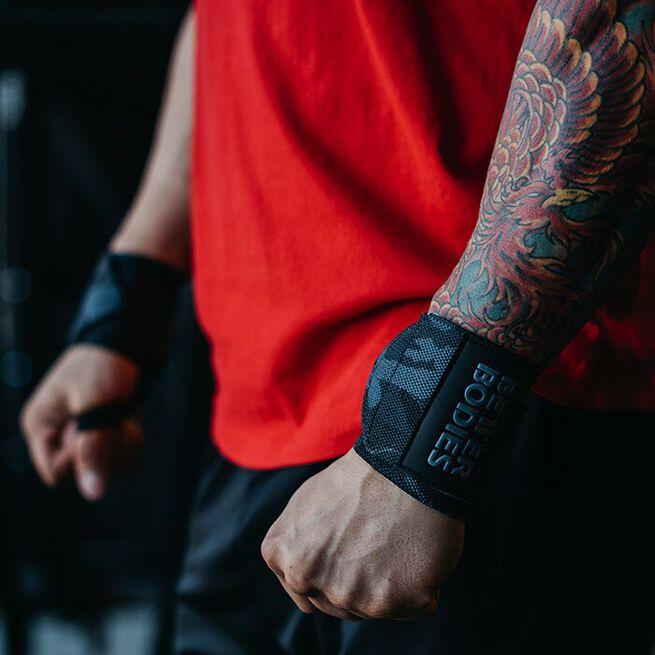 BB Camo Wrist Wraps, Dark Camo