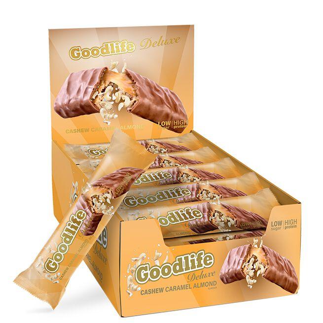 12 x Goodlife Deluxe, Cashew Caramel Almond, 60 g