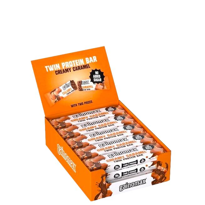 Gainomax 15 x Gainomax Twin Protein Bar, 2 x 25 g
