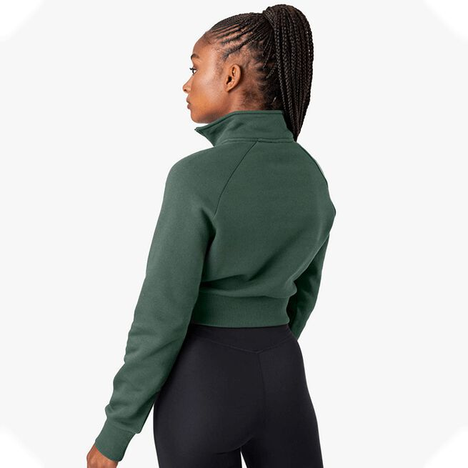 ICANIWILL Essential Cropped Sweater, Moss