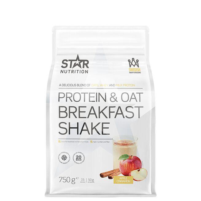 Star nutrition protein and oat breakfast shake apple cinnamon