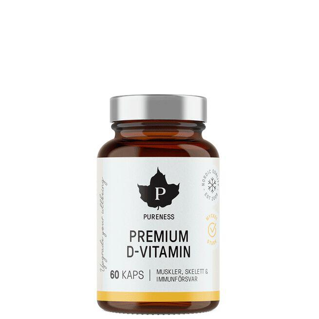 Pureness Premium D-Vitamin,  60 caps