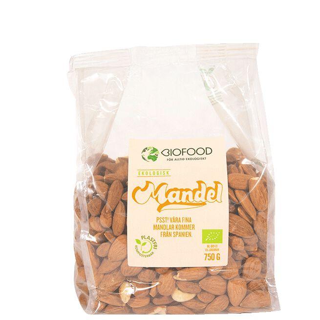 Mandel Hel, 750 g Biofood