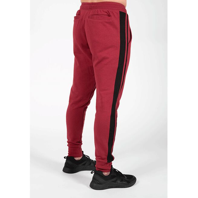 Banks Pants, Burgund Red/Black, M