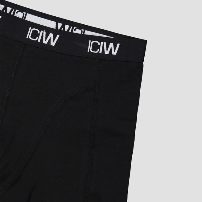 ICANIWILL Boxer 3 Pack Black