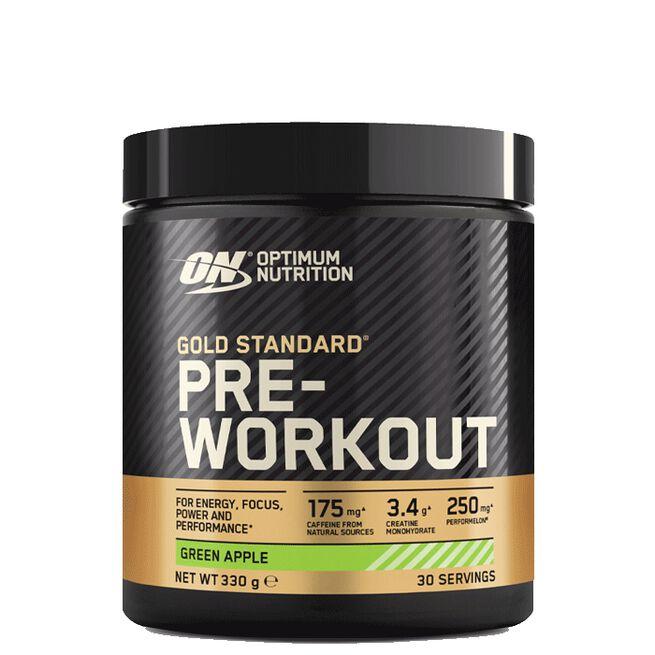 Gold Standard Pre-Workout, 330g, Green Apple
