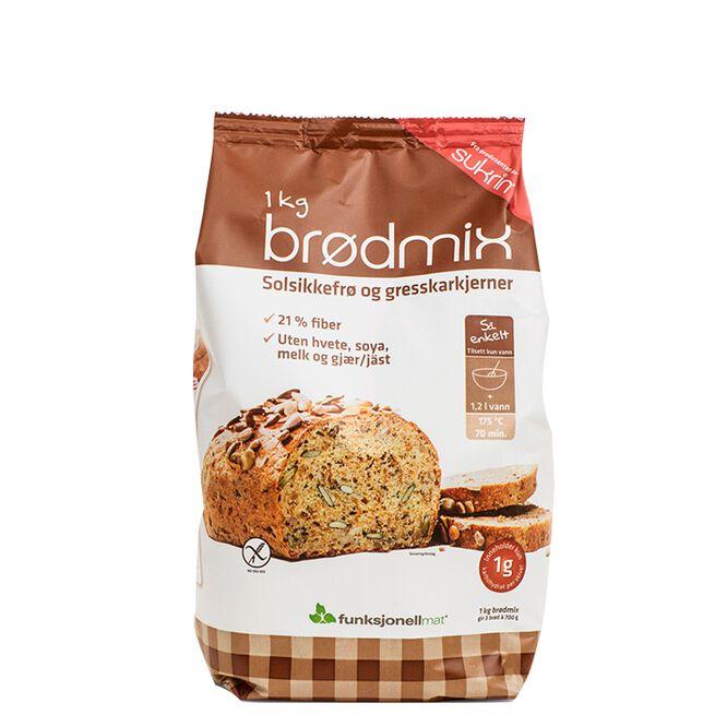 Brödmix, Sunflower & Pumpkinseed, 1 kg
