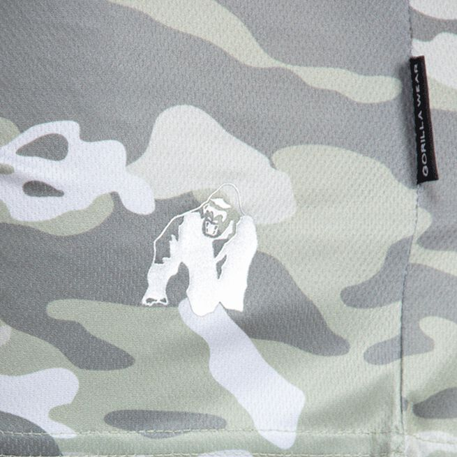 Gorilla Wear Kansas Shorts, Army Green Camo
