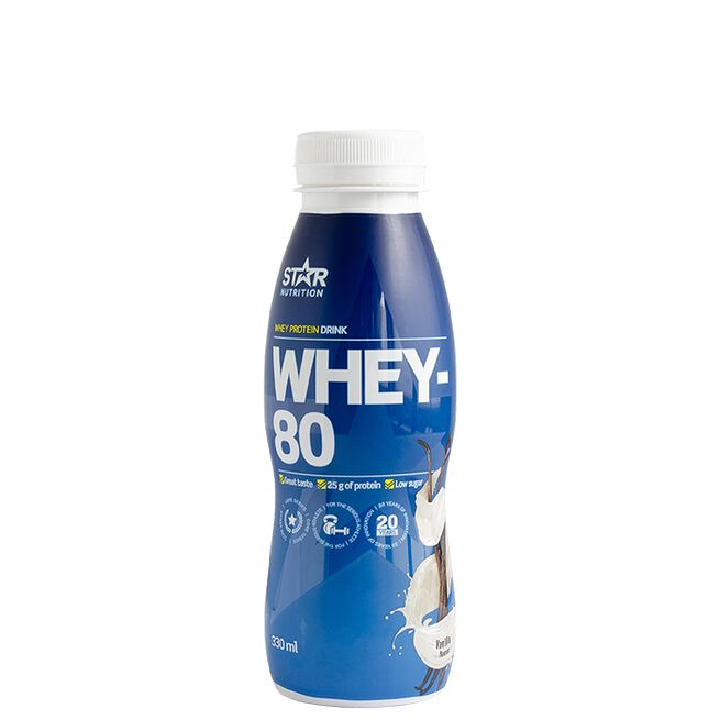 Star Nutrition RTD drink Vanilla whey-80
