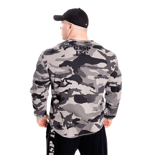 Gasp Thermal Gym Sweater, Tactical Camo
