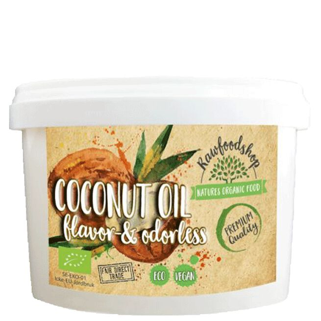 Kokosolja Smaklös & Luktfri EKO, 500 ml
