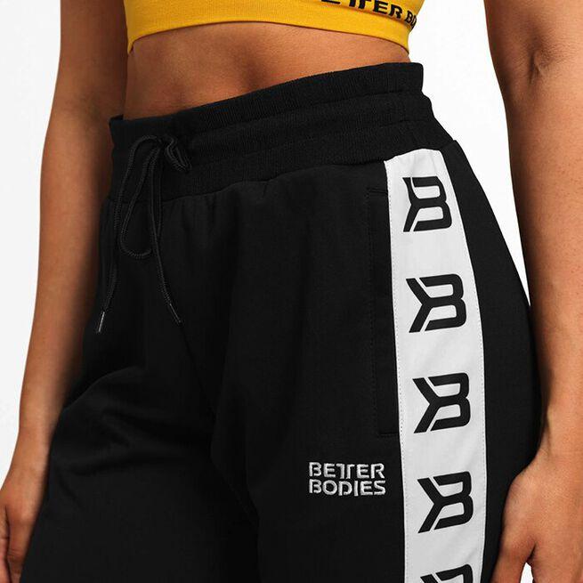 Chelsea Track Pants, Black, M